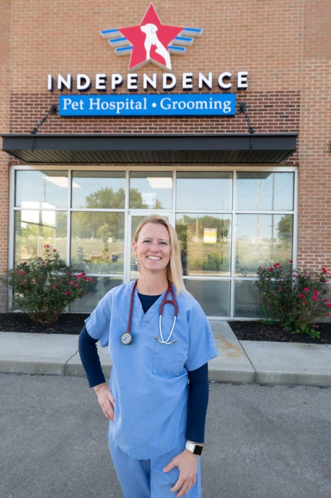 Veterinarian Dr Erin